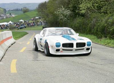 Roger Bolliger's SCCA Road Race Trans Am Cover