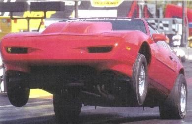 John Bailey's 1991 Firebird with Pontiac Power Cover