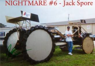 Jack Spore's Pontiac Powered Swamp Racing Buggy Cover