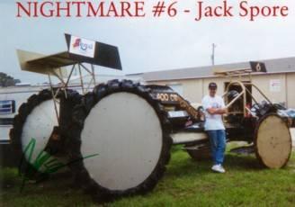 Jack Spore's Pontiac Powered Swamp Racing Buggy Cover