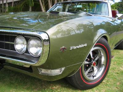 Don Spada's 1968 Firebird Convertible Cover