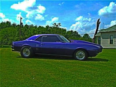 Brad Spidel 's 1968 Firebird Cover