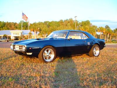 Doug Baril's 1968 Firebird Cover
