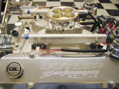 461-474 c.i. Pontiac Crate Engine with EFI. 525 - 625 + HP / 550 - 600 + ft.lbs.torque. Cover