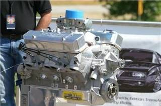 A Butler Performance 535 cu.in Pontiac engine producing over 650 HP on pump gas!! Cover