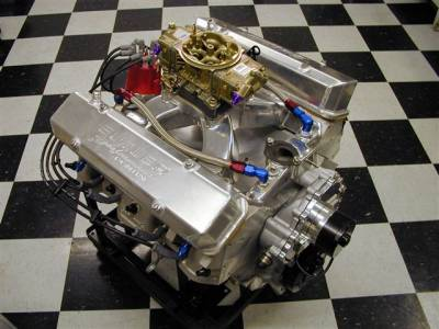 ALL ALUMINUM Pontiac Road Race Engine from Butler Performance. 496 c.i. w/ 730 HP on PUMP GAS Cover
