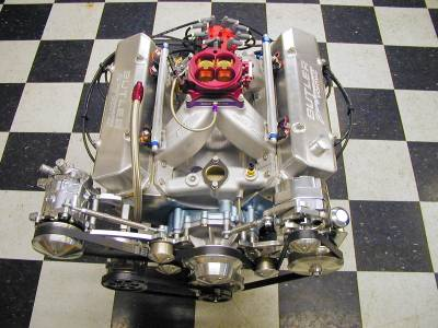 461c.i. Pump Gas Pontiac EFI Street Engine 620 HP & 600 ft.lbs of Torque w/o nitrous! -- 780 HP & 835 ft.lbs. of Torque w/nitrous !!! Cover