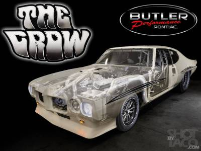 "Justin Shearer's (AKA Big Chief) 70 GTO ""The Crow"" Cover"