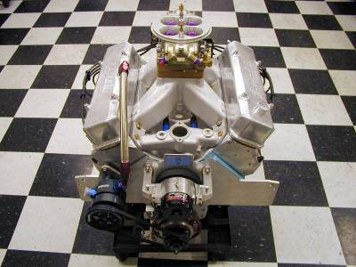 410 cu. in. Butler Performance class race pontiac engine that made 885 HP ( that's over 2.1 HP per cu.in.!)  Cover