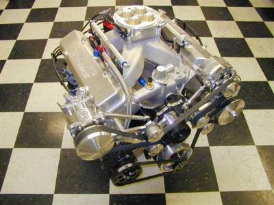 Butler Performance 505 c.i. Crate engine optioned with EFI Cover