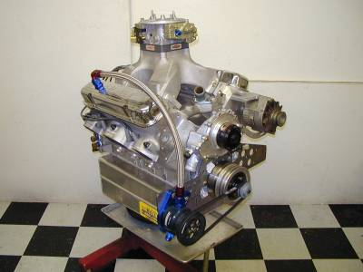 537 c.i. Engine w/Butler Performance Aluminum block and Tiger Heads. BOP Intake. 950 HP and 765 ft.lbs.torque. For Limited Street/Race. Cover