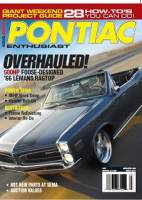 Pontiac Enthusiast Magazine article with our 400  cid Pump Gas Pontiac V-8 in a 1972 Formula Firebird