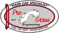 Pro-Gram Engineering - Program Engineering Pontiac 350-389-400 Front Main Cap Billet Steel PRO-P400F