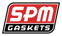 SPM Gaskets - SPM Exhaust Gaskets RA IV & SD for Edel. Rd-Port Heads (Set) SPM-55434