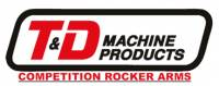 T&D - Camshaft & Valvetrain Components - Rocker Arms and Accessories