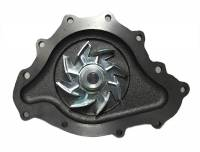 "Butler Performance - Cardone Pontiac 1969 1/2 & Up 11 Bolt Water Pump- Cast Iron 4.5"" AOC-58-303 - Image 2"