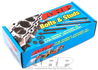 Fasteners-Bolts-Washers - Engine & Intake Bolts/Kits - ARP - ARP Pontiac Stainless Steel Complete Bolt Kit, 6 pt, Hex ARP-594-9601