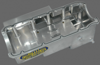 Oil Pans, Dip Sticks, Tubes & Oil Accessories - Oil Pans and Pickups - Billet Fabrication - Billet Fabrications 1 Piece Aluminum Racing Oil Pan BFA-OP1