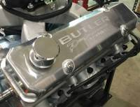 "Butler Performance - Butler Performance 2 3/4"" Short ""Butler Performance Pontiac"" Fab Aluminum Valve Covers-With Bolts (Set) BFA-SVC2 - Image 2"