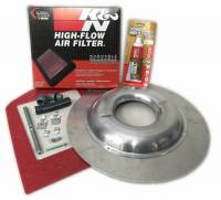 Butler Performance - Blocker Drop Base Shaker Assembly for Edelbrock RPM Intake 1970-72 T/A BPR-2A
