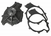 Cooling System Components - Water Pumps - Flowkooler - Flowkooler Pontiac 8-Bolt 1964-68 Hi Volume  Cast Iron Water Pump w/ Billet Aluminum Impeller BRW-1622