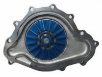 Flowkooler - Flowkooler Pontiac 11-Bolt 1969 1/2-79 Hi-Volume Polished Aluminum Water Pump w/ Billet Aluminum Impeller BRW-1649-P - Image 2