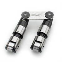 "Lifters - Solid Roller Lifters - Crower - Crower Pontiac .842"" Severe Duty / Cut-Away Style(liteweight) / Standard Height Solid Roller Lifters - No Offset *w/ Pressure Pin Oiling* (Set) CRO-66294H-16"
