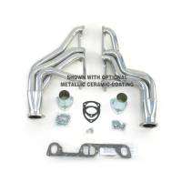 "Doug's Headers - Doug's Headers 1 3/4"" 4-Tube Full Length D-Port Headers Pontiac Firebird 326-455 67-69 Raw Steel DHE-D569R"