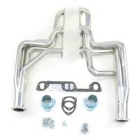 "Headers and Exhaust Manifolds - Dougs Headers - Doug's Headers - Doug's Headers 1 3/4"" 4-Tube Full Length D-Port Headers Pontiac GTO 326-455 68-72 Metallic Ceramic Coating DHE-D590"
