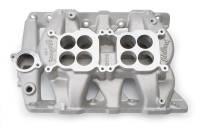 Edelbrock - Edelbrock Dual-Quad Pontiac Intake Manifold EDL-5450 - Image 1