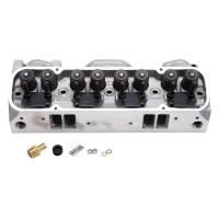 Cylinder Heads - Edelbrock - Edelbrock Round Port CNC Machined Pontiac 72cc Cylinder Heads,Hyd. Roller (Pair)EDL-61515-2