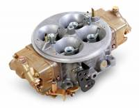 Holley Carburetors - Dominator - Holley - Holley 750 CFM Dominator Carb -1 x 4 Gas Dichromate Finish HLY-0-80186-1