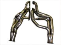 "Headers and Exhaust Manifolds - Mad Dog Headers - Mad Dog Headers - Mad Dog D-Port Headers 1 3/4"" X 2"" Primaries, 3 1/2 Collectors, 1978-87 G-Body LeMans, Gran Prix, Grand AM  (AT Trans) /no coating MDH-MD9172D"