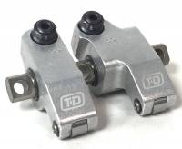 Camshaft & Valvetrain Components - Rocker Arms & Components - T&D - T&D Competition Pontiac Shaft Rocker Assembly, Set