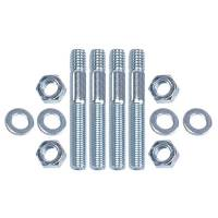 "Fasteners-Bolts-Washers - Kits, Sets, & Misc Fasteners - TD Performance - TD Performance 3"" Carburetor Stud Kit 5/16"" Course/Fine Threads TDP-2106"