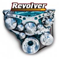 "March Performance - March Pontiac 1970 & Up Firebird Style Track ""Revolver"" Serpentine System, NO Power Steering MAR-13160"