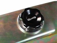 Pro-Werks - Pro-Werks 1-5/8 in. Black Fill Cap with Aluminum Bolt-on Bung, Black PWE-C73-735-B - Image 2