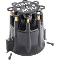 Ignition/Electrical - Accessories- Caps, Wire Looms, Etc - MSD Performance - MSD/GM Distributor Cap - HEI Terminals, Black MSD-84333