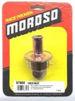 Oil Pans, Evac Kits, & Oil Accessories - Evac Pump Kits & Accessories - Moroso - Moroso Check Valve, replacement for Header Mounted Crankcase Evac System  MOR-97800