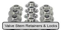 Camshaft & Valvetrain Components - Valve Stem Retainers & Locks