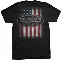 Apparel, Decals, Books, Gift Cards - Shirts/Hoodies - Butler Performance - Butler American Pride T-Shirt, Small-4XL BPI-TS-BP1605