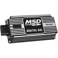 MSD Performance - MSD 6AL Digital Ignition Box w/ Built in Rev Limiter, Black MSD-64253