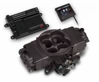 Holley EFI SYSTEMS - Holley Terminator Stealth EFI Systems - Holley - Holley Terminator Stealth EFI Kit & Complete Fuel System, Hard Core Gray HLY-550-441K