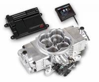 Holley EFI SYSTEMS - Holley Terminator Stealth EFI Systems - Holley - Holley Terminator Stealth EFI Kit & Complete Fuel System, Polished HLY-550-440K