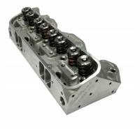 Butler Performance - Butler Performance Edelbrock Round Port/Wide Port Custom CNC Machined Pontiac 72cc 370+CFM Cylinder Heads, (Pair) BPI-72cc-EDL-RdPort-370CNC-WP - Image 1