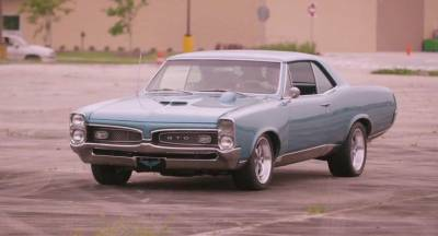 1967 GTO as seen on History Channel's Big Easy Motors Cover