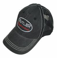 Apparel, Decals, Books, Gift Cards - Hats - Butler Performance - Butler Performance Hat Black on Black / Distressed, BPI-HAT-HPD-610