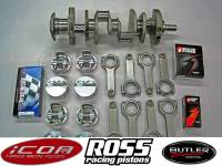 "Rotating Assemblies & Stroker Kits - 400 Blocks (406-495 cu. In.) - Butler Performance - Butler Performance 455-462 ci Balanced Rotating Assembly Stroker Kit, Icon or Ross, for 400 Block, 4.210"" str."
