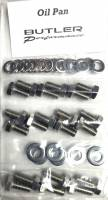 Fasteners-Bolts-Washers - Oil Pump, Oil Pan Bolts and Drain Plugs - Butler Performance - Butler Performance Oil Pan Fastener Kit, 40pc ABO-Kit-OPAN