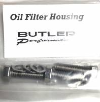 Fasteners-Bolts-Washers - Oil Pump, Oil Pan Bolts and Drain Plugs - Butler Performance - Butler Performance Oil Filter Housing Fastener Kit, 6pc ABO-Kit-OF